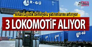 Ar-Gü 3 lokomotif alacak! Arkas Lojistik demiryolu yatırımlarını artırıyor