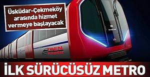 Vatmansız Metro İstanbul'da Raylarda