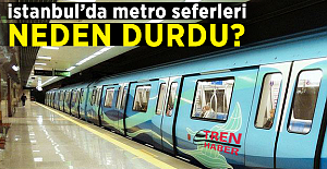 İstanbul'da metro seferleri neden durdu?