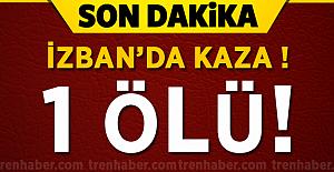 İzban'da Kaza! Trenin çarptığı demiryolu işçisi öldü