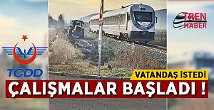 TCDD'den Zonguldak'ta uçak yolcularını sevindirecek haber