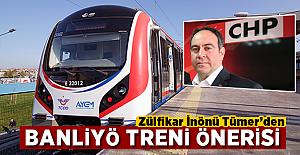 CHP'li Tümer'den Adana'ya banliyö treni önerisi