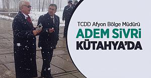 TCDD 7. Bölge Müdürü Adem Sivri Kütahya'da Geçitte İncelemelerde Bulundu!