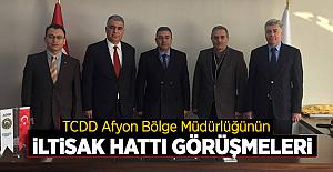 TCDD Afyon Bölge Müdürlüğü İltisak Hatları Üzerinde Çalışmalarını Sürdürüyor!