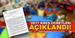 TCDD Kreş ücretlerini açıkladı! İşte yeni ücretler
