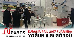 Nexans, Eurasia Rail 2017 Fuarı'nda, Ziyaretçilerinden Yoğun İlgi Gördü