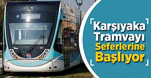 İzmir Karşıyaka Tramvayı Ön Seferlerine Başlıyor