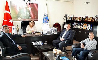 Adem Sivri'den Bozkurt Belediye Başkanı Çelik'e Ziyaret
