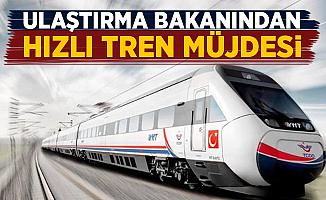 Bakan Arslan'dan Iğdır'a Hızlı Tren Müjdesi