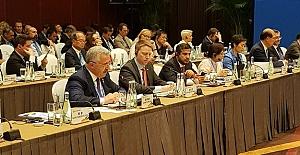 Bakan Arslan, Pekin'de Kuşak ve Yol Forumu'nda konuştu