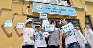 'Gözünüz Tramvayda Olsun' Kampanyası Okullarda