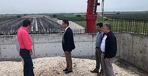 Koçbay, Akhisar Şehir Geçişi Projesini yerinde inceledi
