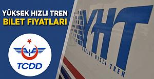 TCDD Yüksek Hızlı Tren Bilet Fiyatları 2018! GÜNCEL