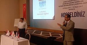 Tüdemsaş Personel Eğitimleri Antalya'da devam ediyor
