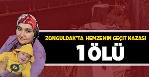 Zonguldak'ta Hemzemin Geçit Kazası! 1 Ölü