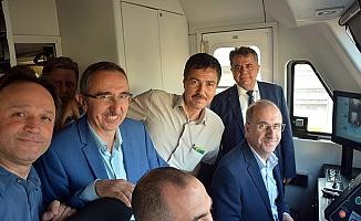 İsa Apaydın, Adana-Mersin hızlı tren hattını inceledi