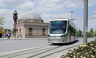 Konya'da tramvay seferleri artırıldı