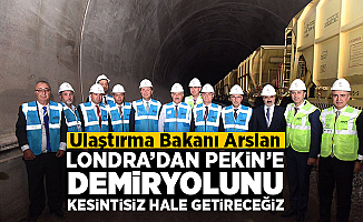 """Bakan Arslan """"Londra'dan, Pekin'e demiryolunu kesintisiz hale getireceğiz"""""""