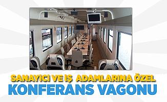 Sanayici ve iş adamlarına özel 'Konferans Vagonu'