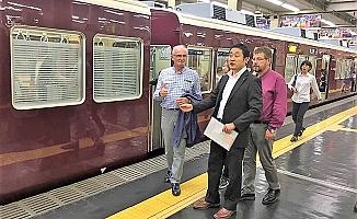 Başkan Yılmaz Japonya'da raylı sistemleri inceledi