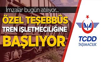 Demiryolu taşımacılığında milat! Özel teşebbüs tren işletmeciliğine başlıyor