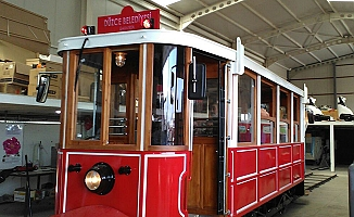 Düzce'nin nostaljik tramvayı hazır