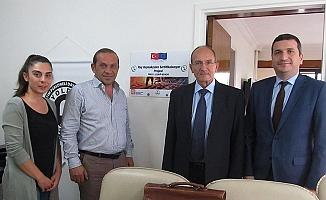 Ray Kaynakçıları Sertifikalanıyor Projesi'ne Avrupa Komisyonu'ndan ziyaret