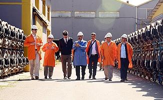 TSE ve TMKT yetkililerinden Tüdemsaş'a ziyaret