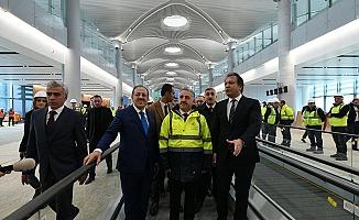 3. Havalimanı'nın yüzde 73'ü tamamlandı