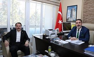 Ali Yalçın'dan Can Cankesen'e ziyaret