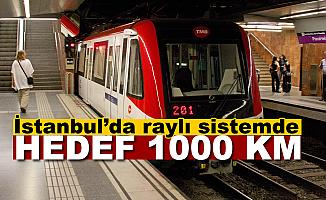 İstanbul'da Raylı Sistemde Hedef 1000 Km