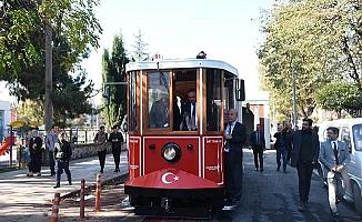 Nostaljik Tramvay'ın test sürüşü yapıldı