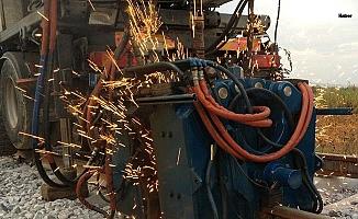 Susurluk-Bandırma istasyonları arası makineli ray kaynağı ihalesi