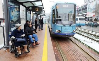 Gaziantep'te tramvay günde 70 bin yolcu taşıyor