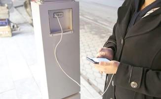 Otobüs duraklarına şarj istasyonu - Sivas Haberleri