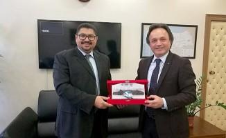 Sudan Ankara Büyükelçisinden TCDD'ye Ziyaret