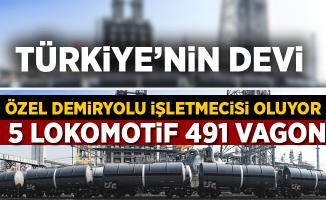 """Türkiye'nin Devi """"Özel Demiryolu İşletmecisi"""" Oluyor"""