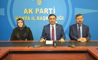 AK Parti Milletvekili Ünal Konya'nın demiryolu yatırımlarında son durumu açıkladı