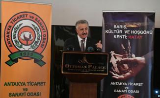 Bakan Ahmet Arslan, Lojistik ve Ro-Ro Taşımacılığı İstişare Toplantısı'nda konuştu