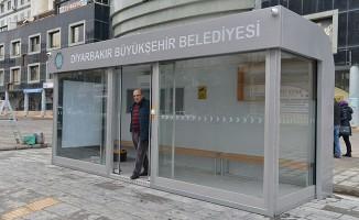 Diyarbakır'da klimalı durak sayısı artıyor