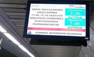Hrant Dink anmasına metro yasağı