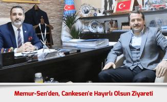 Ali Yalçın'dan, Cankesen'e Hayırlı Olsun Ziyareti