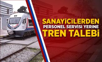 Sanayicilerden personel servisi yerine tren talebi