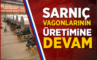 Sarnıç Vagonu (Zacens) üretimi TÜDEMSAŞ'ta devam ediyor