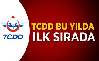 TCDD bu yılda ilk sırada