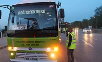 Toplu taşıma araçlarının yüzde 40'ına ceza kesildi