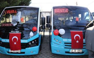 Turgutlu'da Toplu Ulaşıma 6 Yeni Araç