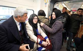 Başkan Akçaray'da vatandaşları dinledi