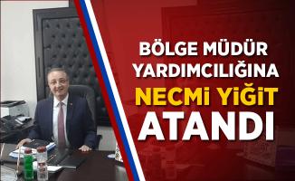 Necmi Yiğit, TCDD 5. Bölge Müdür Yardımcılığına Atandı