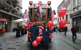 Nostaljik tramvay 104 yaşında